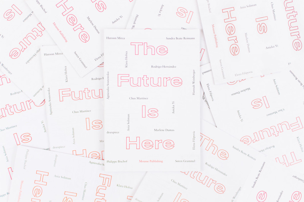 MOUSSE AGENCY THE FUTURE IS HERE — 2015