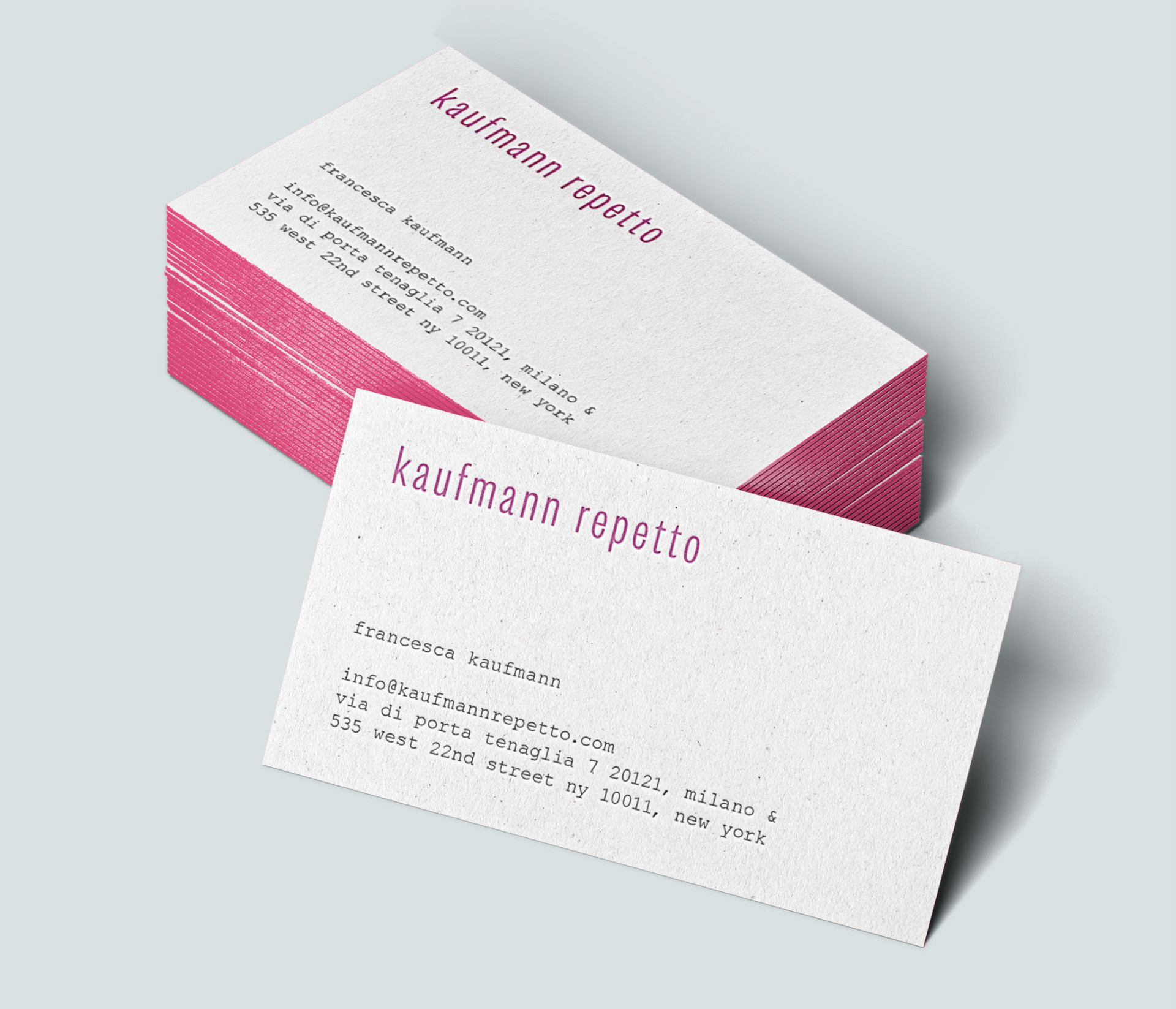 MOUSSE AGENCY KAUFMANN REPETTO — 2016